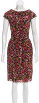 Erdem Silk Abstract Dress w/ Tags
