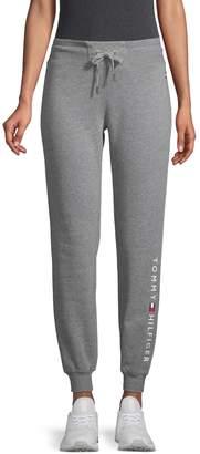 Tommy Hilfiger Drawstring Cotton-Blend Jogger Pants