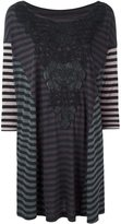 Antonio Marras striped longsleeved knitted blouse
