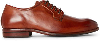 Cole Haan British Tan Warner Grand Leather Derby Shoes