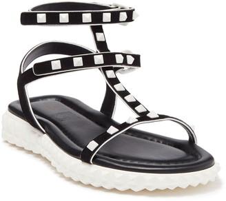 Valentino Studded Ankle Strap Sport Sandal