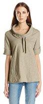 Neon Buddha Women's Gloria Cowl-Neck Sweatshirt