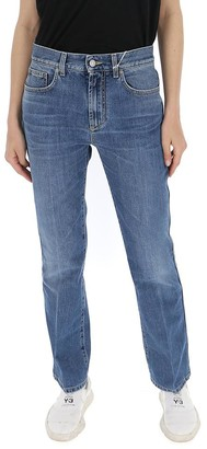 Givenchy Bootcut Faded Jeans