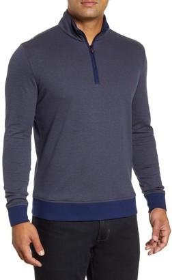 Robert Graham Hartford Half-Zip Cotton Sweater
