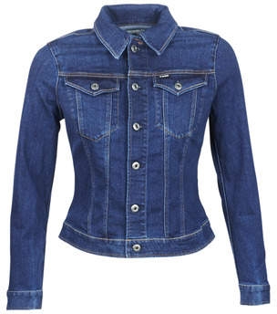 G Star Raw 3302 SLIM JACKET women's Denim jacket in Blue