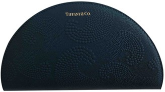 Tiffany & Co. Navy Leather Wallets