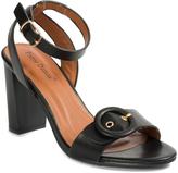 Pierre Dumas Black Ankle-Strap Nancy Sandal