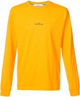 Stone Island logo print T-shirt - men - Cotton - XXL