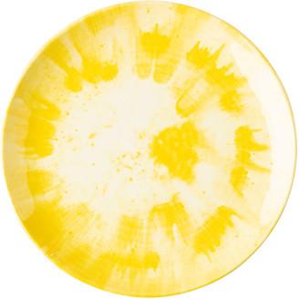 Juliska Spin Platter Yellow Melamine Dinner Plate