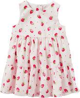 Osh Kosh Oshkosh Sleeveless Babydoll Dress - Baby Girls