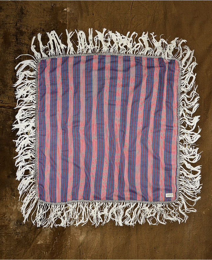 Denim & Supply Ralph Lauren Scarf, Striped Fringe Scarf