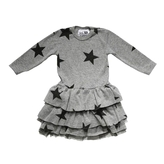 Nununu - Girl's Tutu Dress - Grey