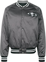 RtA satin bomber jacket - men - Cotton/Polyester/Spandex/Elastane - S