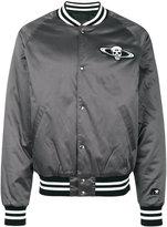 RtA satin bomber jacket