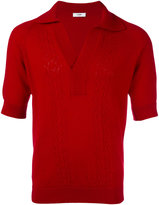 Cmmn Swdn Remi shortsleeved jumper - men - Merino - S