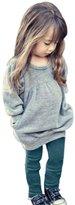 Tenworld Baby Girls 2pcs Outfit Clothes Long Sleeve T-shirt Tops+Long Pants