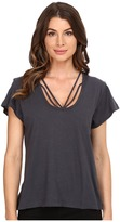 LnA Strapped Deep V Top