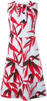 Marni Swash print dress - women - Cotton - 38