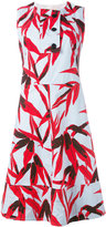 Marni Swash print dress - women - Cotton - 40