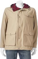 Woolrich Men's Flannel-Lined Hooded Jacket