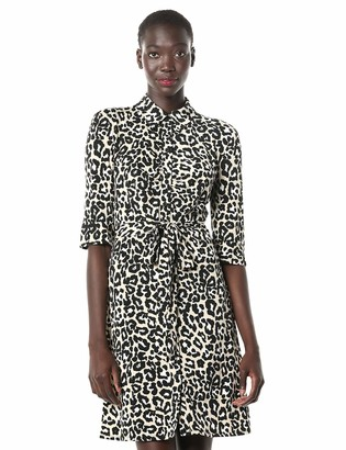 Laundry by Shelli Segal Women's Matte Jersey Shirt Dress