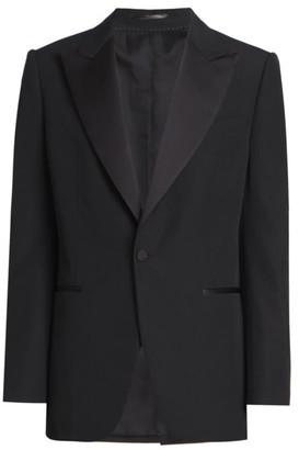 Dries Van Noten Kendrick Wool Tuxedo Suit