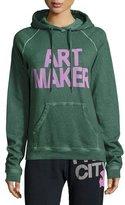 Freecity Art Maker Pullover Hoodie, Green