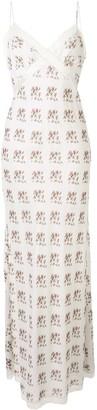 Brock Collection Rita floral print maxi dress