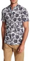 Heritage Reverse Floral Print Slim Fit Sport Shirt