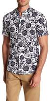 Heritage Reverse Floral Short Sleeve Slim Fit Shirt
