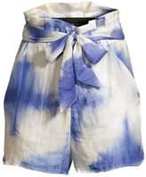 Paper London Horice Tie-Dye Shorts