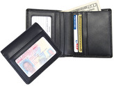 Royce Leather Men's Double ID Bi-Fold Wallet 100-6