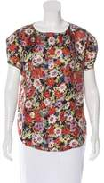 Steven Alan Silk Floral Top