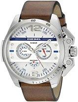 Diesel Men's DZ4365 Ironside Analog Display Analog Quartz Brown Watch