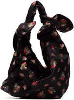 Simone Rocha double bow floral jacquard shoulder bag