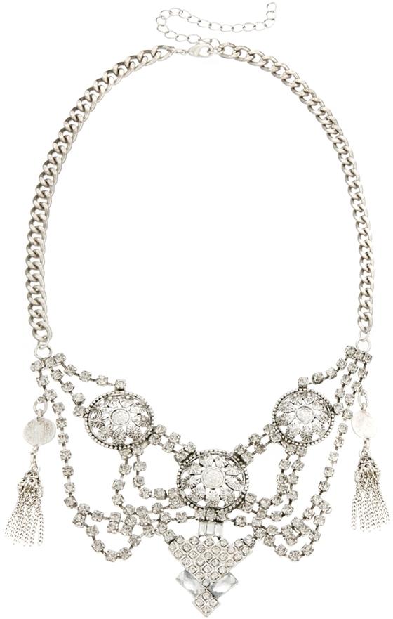 Asos Indian Tassel Necklace