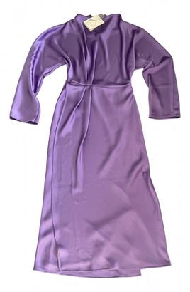Stine Goya Purple Polyester Dresses