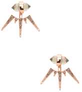 Rebecca Minkoff Pave Crystal Spiked Ear Jacket
