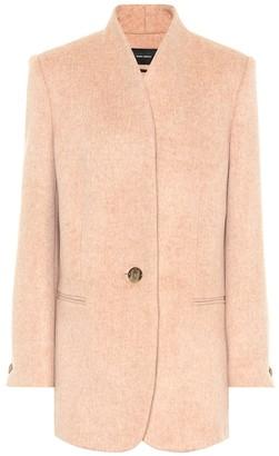 Isabel Marant Felisey wool and cashmere jacket