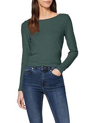 Esprit Women's 129eo1k011 Long Sleeve Top,Large