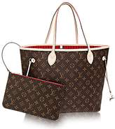 Louis Vuitton Authentic Neverfull MM Monogram Canvas Cherry Handbag Article:M41177