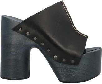 Maison Margiela Open Toe Clog Sandals