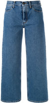 Ports 1961 cropped wide-leg jeans - women - Cotton - 28