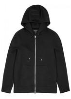 Helmut Lang Black Hooded Modal Sweatshirt