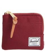 Herschel Men's 'Johnny' Half Zip Wallet - Red