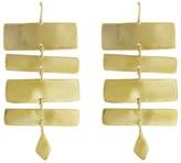 Ariana Boussard Reifel Antilles Short Earrings - Brass