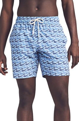 Faherty Beacon Swim Trunks