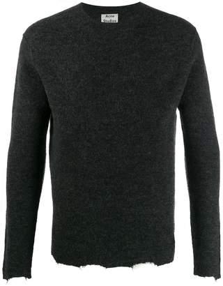 Acne Studios distressed trim jumper