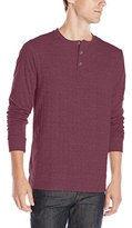 Threads 4 Thought Men's Double Faced Long-Sleeve Henley Shirt