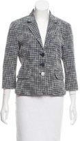 MICHAEL Michael Kors Tweed Silk-Blend Blazer